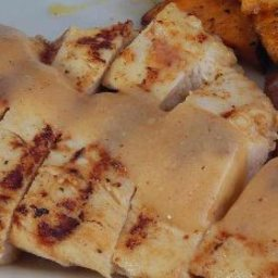Grilled Chicken with Mustard Sauce