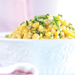 Grilled Corn with Spicy Lime Mayo