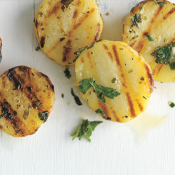 Grilled Herb Potatoes