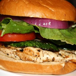 Grilled Honey Lime Chicken Sandwiches