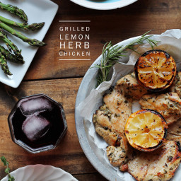 Grilled Lemon Herb Chicken