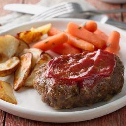 Grilled Meat Loaf Dinner Foil Packets