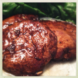 Grilled Portabella Mushrooms Modena