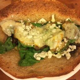 Grilled Portabello Mushroom Wrap