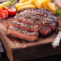 Grilled Rib Eye Steaks - BigOven