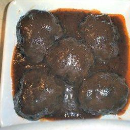 Grilled Salisbury Steak in Belmont Sauce