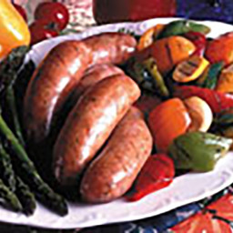 Grilled Sausage & Vegetables