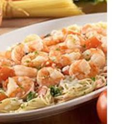 Grilled Shrimp Caprese Pasta