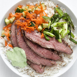 Grilled Steak and Rice Bowl