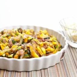 Grilled Summer Squash Salad With Feta