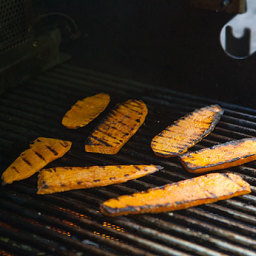Grilled Sweet Potatoes (plain recipe)