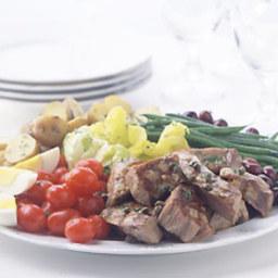 Grilled Tuna Salade Niçoise