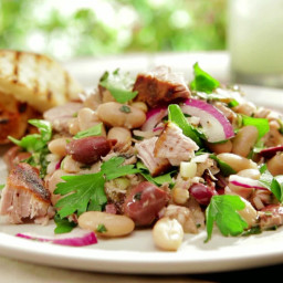 Grilled Tuscan Tuna Salad