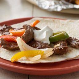 Grilled Beef Fajita Packets