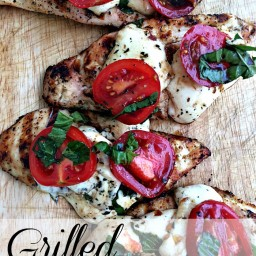 Grilled Caprese Chicken