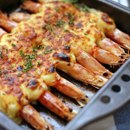 Grilled Cheese Prawns