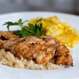 Grilled Chicken Thighs Tandoori