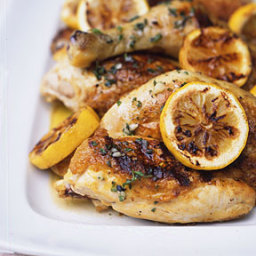 Grilled Chicken with Lemon, Garlic, and Oregano