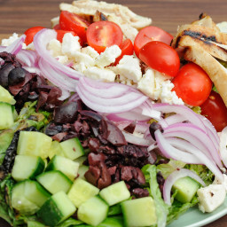 Grilled Greek Summer Salad