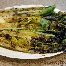 Grilled Romaine Healthified!