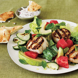 Grilled Scallop Salad
