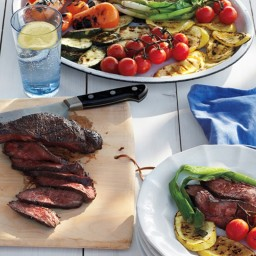 Grilled Steak and Summer Vegetable Salad