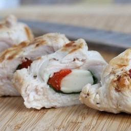 Grilled Stuffed Chicken Italiano