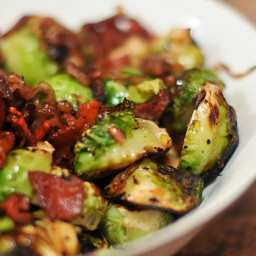 Grilling: Brussels Sprouts with Bacon