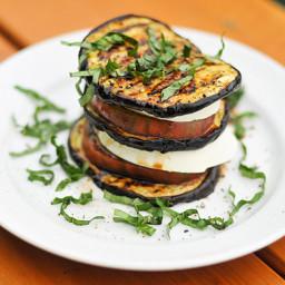 Grilling: Eggplant Caprese