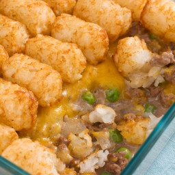 Gluten Free Ground Beef and Tater Tot Casserole Recipe