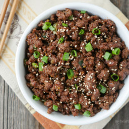 Ground Beef Bulgogi
