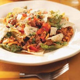 Ground Pork Taco Salad Recipe
