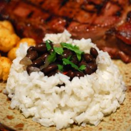Grove's Black Beans and Rice