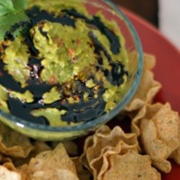 Guacamole with Balsamic Reduction
