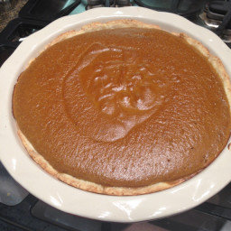 Gutierrez Holiday Pumpkin Pie (Juliet's Favorite!)