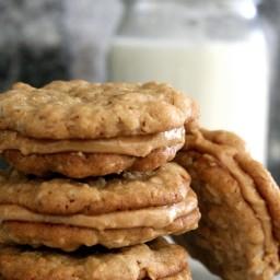 Half-way to heaven peanut butter cookies