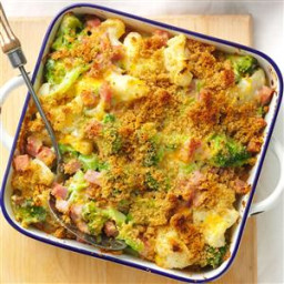 Ham and Veggie Casserole Recipe