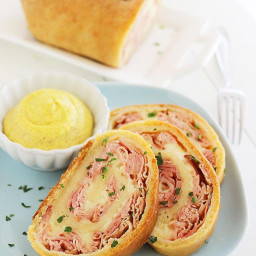 Ham & Cheese Roll-Up