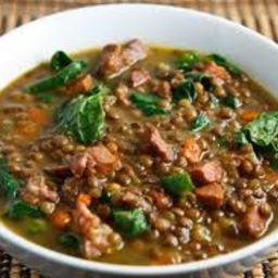 Ham & Lentil Soup