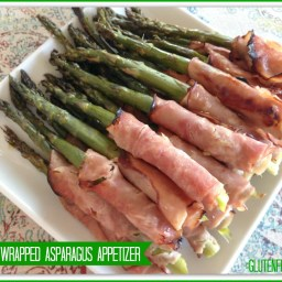 Ham Wrapped Asparagus Appetizer