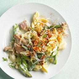 Ham and Asparagus Macaroni