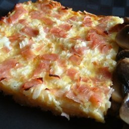 Ham and Cheese Breakfast Quiche