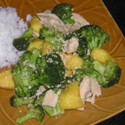 Hawaiian Chicken Stir-Fry