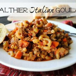 Healthier Italian Goulash