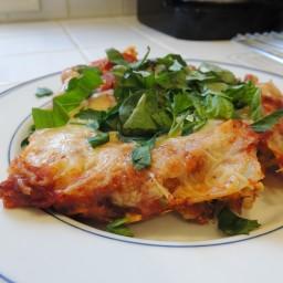 Healthier Vegetarian Lasagna