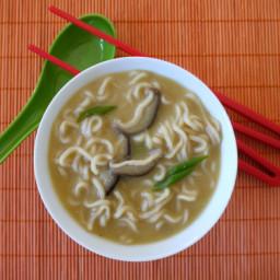 Healthier Ramen Noodle Soup