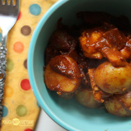 Healthy Chicken Potato Curry