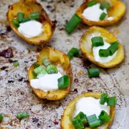 Healthy Potato Skin Poppers