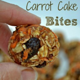 Healthy Recipe: Carrot Cake Bites