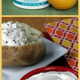 Healthy Sour Cream Substitute